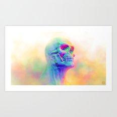 SKULL CANDY Art Print