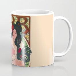 Alphonse Mucha Job Rolling Papers Art Nouveau Woman Coffee Mug