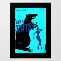 pulp Art Prints featuring Pulp ! by malobi