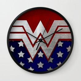 "Wonder ""New 52"" Woman Wall Clock"