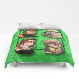 Renaissance Mutant Ninja Artists Comforters