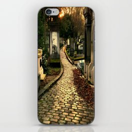 Pere Lachaise Cemetery iPhone Skin