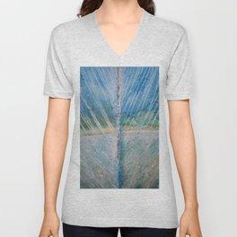 Shades of Blue Unisex V-Neck