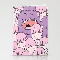 tits Stationery Cards featuring we love tits by Hugo Portinha