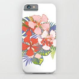 Tropical plants. Tropical flowers iPhone Case