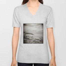 { sand, surf, sun } Unisex V-Neck