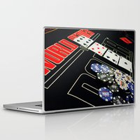 poker Laptop & iPad Skins featuring poker by yahtz designs