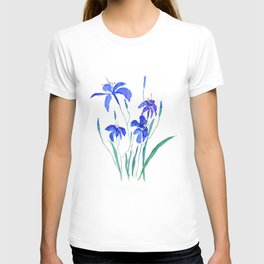 blue day lily T-shirt
