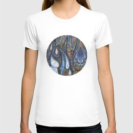 Dewdrop Meets the Rain T-shirt