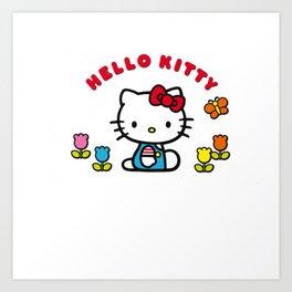 Charlie Snoopy Hello Tweety Bugs Bunny Art Print