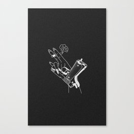 Kill ´em (black) Canvas Print