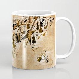 world map music 2 Coffee Mug