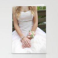 dress Stationery Cards featuring Dress by Naya Joyce
