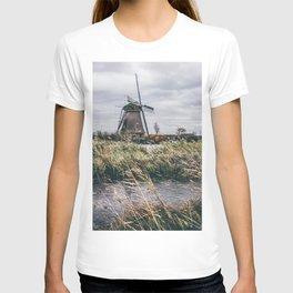 Kinderdijk Windmill T-shirt