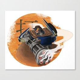 WP: A Proper Story | Breakdown Canvas Print