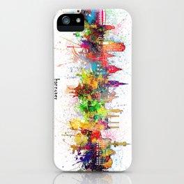 hannover skyline artistic iPhone Case