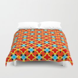 Lady Bug Bugging Out Duvet Cover