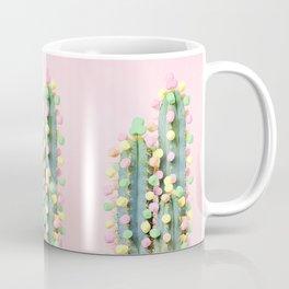 Marshmallow Cactus in Bloom Coffee Mug