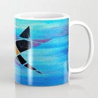 ninja Mugs featuring Ninja by takingachancexo