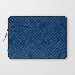 10 Print: Thin Blue Laptop Sleeve