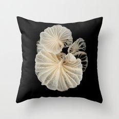 Mushroom Gills Throw Pillow