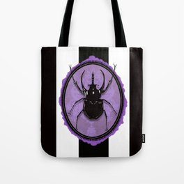 Juicy Beetle PURPLE Tote Bag