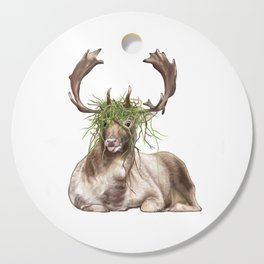 Derp Deer Cutting Board
