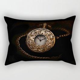 vintage clock_28 Rectangular Pillow
