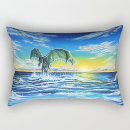 Ascending Tides Rectangular Pillow