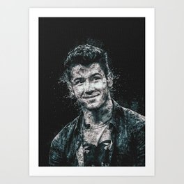 The Jonas Brothers Smile Art Print