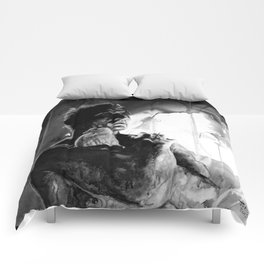 Like tears in rain - black - quote Comforters