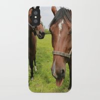 horses iPhone & iPod Cases featuring horses by Falko Follert Art-FF77