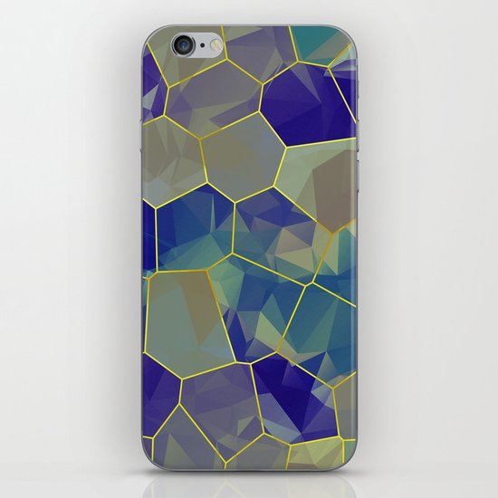 Stained Glass Polygons iPhone & iPod Skin