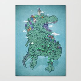 Las Peñas Canvas Print