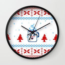 A Muggy Christmas Wall Clock