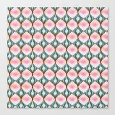 Raindrop Pink Canvas Print