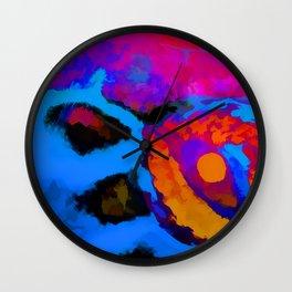 Myrtle Eye Wall Clock