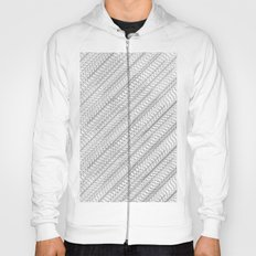 Overlapping Circles Pattern Hoody