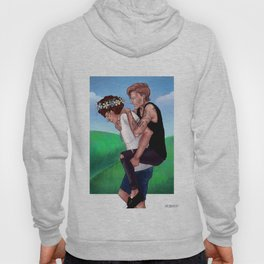 Punk Louis and flower boy Harry Hoody