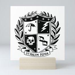 Umbrella Academy Crest Mini Art Print