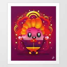 Candy Boy Art Print