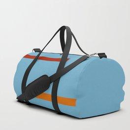 Abstract Minimal Retro Stripes Reiki Duffle Bag