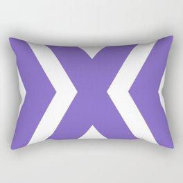 To the center Rectangular Pillow