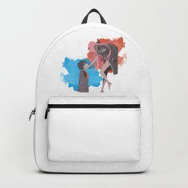 DARLING in the FRANXX Minimalist (Hiro and Zero Two) Backpack