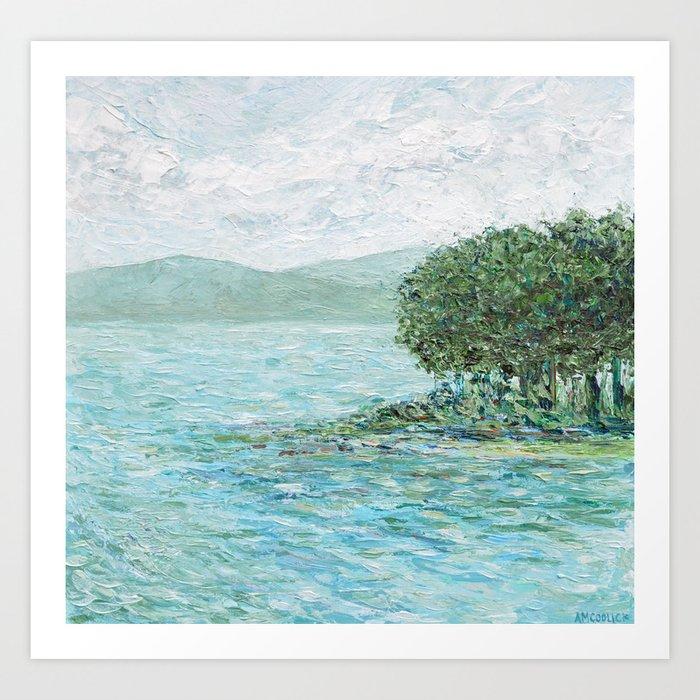 Lakeside Summer 2 Kunstdrucke