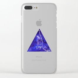 Virgo - Astrology Mixed Media Clear iPhone Case