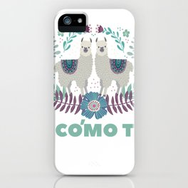 Double Llama iPhone Case