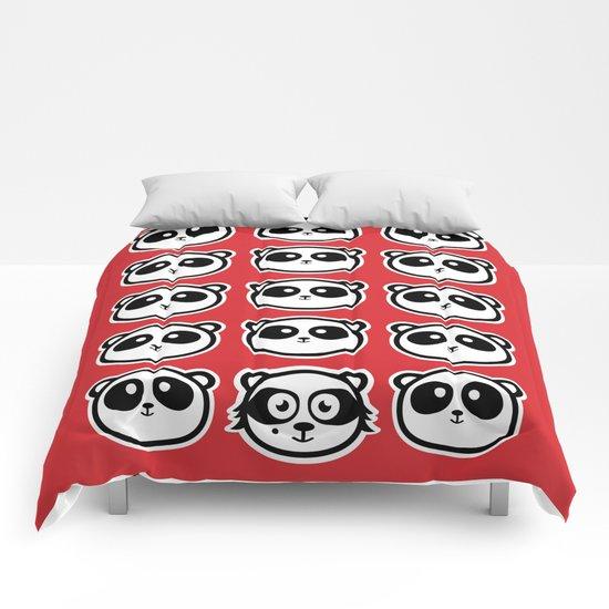 Sweet intruder Comforters