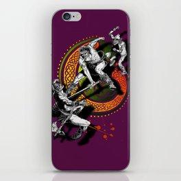 Ukko and the Slayer iPhone Skin