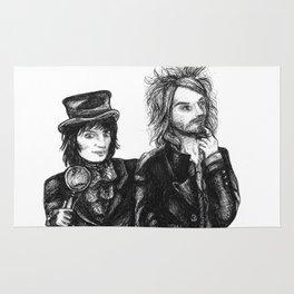 Goth Detectives Rug